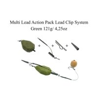 Multi Lead Action Packs Lead Clip System green 121g/ 4,25oz